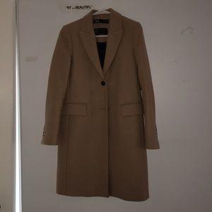 Zara Brown long Jacket